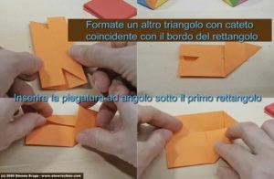 Triangolo con lato su rettangolo esterno