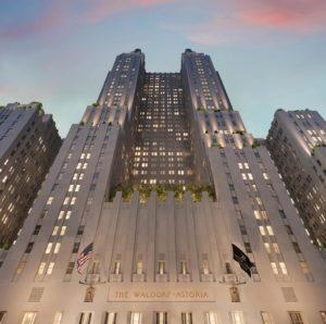 Vista del Waldorf Astoria
