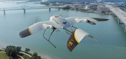Drone UPS e Wingcopter