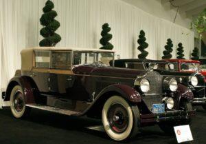 Packard Model Convertible Sedan del 1927 AAU