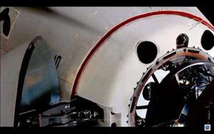Crew Dragon vicino a ISS