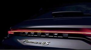 Panamera 2021 fascia luci posteriore