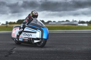 Max Biaggi alla guida della Voxan high-performance