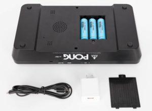 Atari Pong Jr accessori e batterie