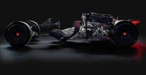 Bugatti Bolide trasmissione