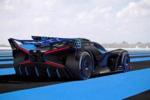 LED a X Bugatti Bolide
