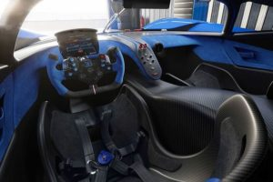 Bugatti Bolide sedile pilota
