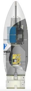 Sezione Stadi razzo Vega Ingenio