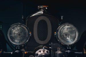 Bentley Blower Car Zero fari