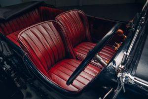 Bentley Blower Car Zero sedili in pelle rossa OxbloodBridge of Weir