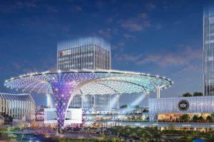 Nuovo edificio per e-Sport Shanghai International Culture and Creative Esports Center