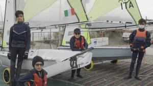 Equipaggio RS Feva Club Nautico San Bartolomeo al Mare