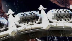 Moduli abitativi stazione Voyager a gravità artificiale