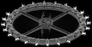 Docking Hub della stazione Voyager di OAC