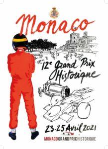 Locandina 12* Gran Premio Storico Monaco