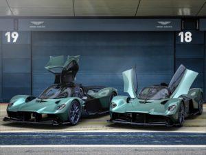 Aston Martin Valkyrie Spider incernierate anteriormente