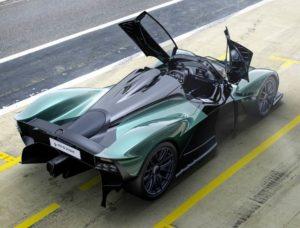 Aston Martin Valkyrie Spider vista top