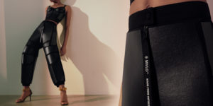 Stella McCartney Mylo pantaloni e top bustino