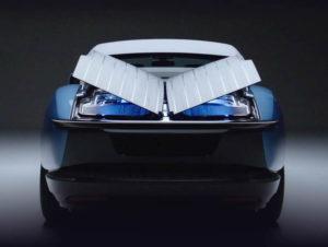 Apertura a farfalla coda Boat Tail Rolls-Royce