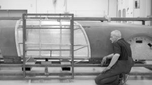 Rolls-Royce Boat Tail realizzazione a mano telaio in alluminio